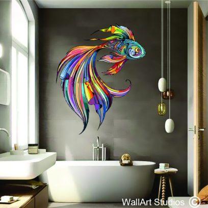 WDGF - Colourful Goldfish