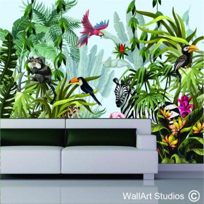 WMJA Jungle animals