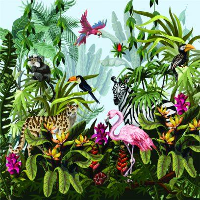 WPM Jungle Animals