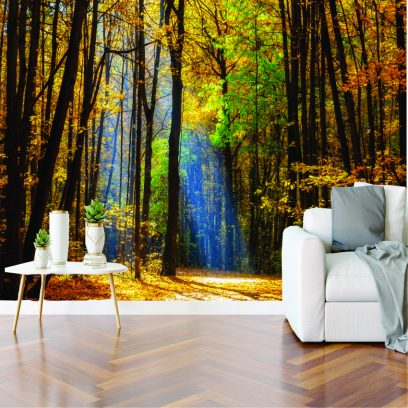 WMAL - Autumn Forest Wall Mural