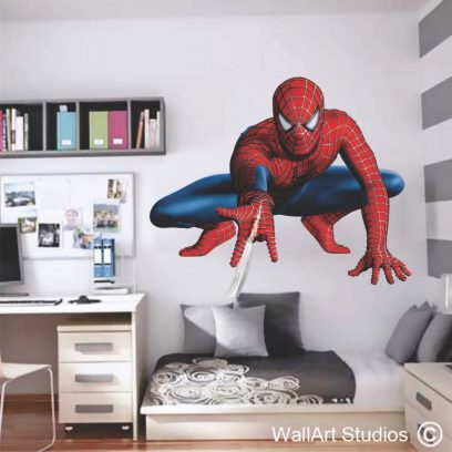 WDSM Spiderman Wall Decal