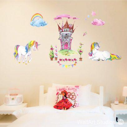 PS Castle & Unicorns Peel & Stick