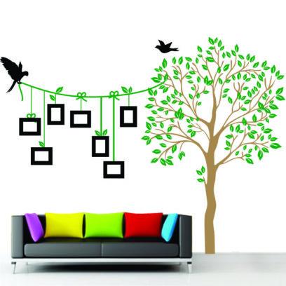 NT47 Photo tree with birds