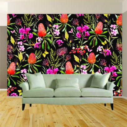 Indigenous flowers wallpaper