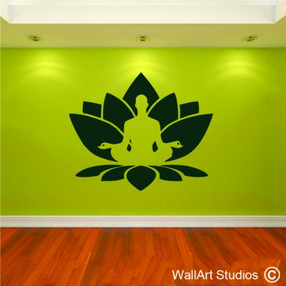 FH3 Ltous mediation yoga wall quote