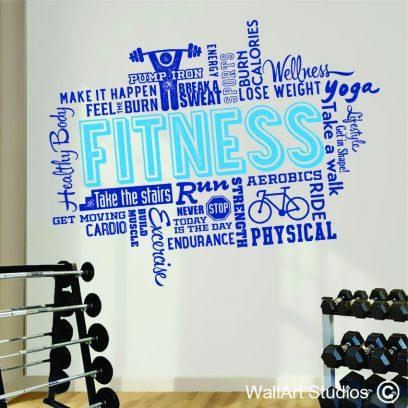 FH4 Fitness & Health Wall Sticker