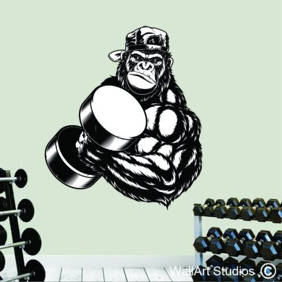 PSS 2 Gorilla Muscle wall sticker