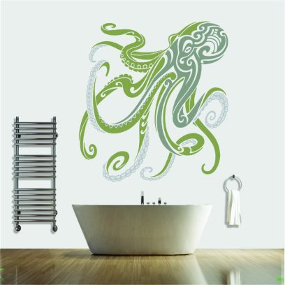 NA47 Octopus Dance Wall decal