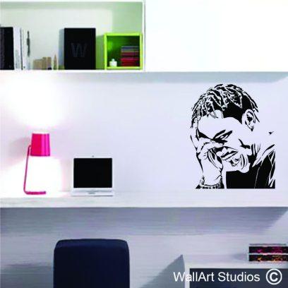 M7 Travis Scott wall art
