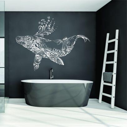 NA48 Designer whale wall art