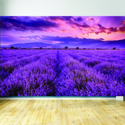 WML2 Lavender wall mural