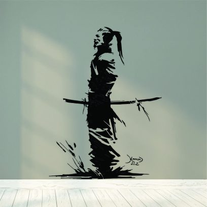 KB54 Samurai Warrior wall art