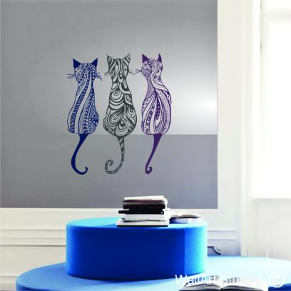 NA50 Decorative Cats wall decal